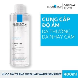 Nước Tẩy Trang Cho Da Nhạy Cảm 400ML - Loại bỏ mọi bụi bẩn, lớp makeup trên khuôn mặt, Mang lại cảm giác tươi mới tức thì thumbnail