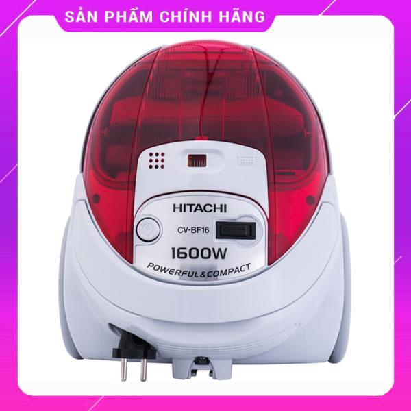 [CHÍNH HÃNG} Máy hút bụi Hitachi CV-BF16 giá rẻ, dung tích 1.5L, thiết kế nhỏ gọn, hiện đại, công suất lớn, 2 đầu hút tiện dụng