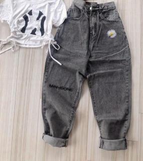 [HCM]Quần baggy jean quần bò chất vải cao cấp chất lượng thời trang trẻ trung lưng cao 1990STORE MS700 thumbnail