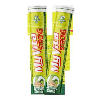 MATARA - MyVita Strong - Viên Sủi Bảo Vệ Sức Khỏe Bổ Sung Vitamin Nhóm B, C, Kẽm Hỗ Trợ Tăng Đề Kháng thumbnail
