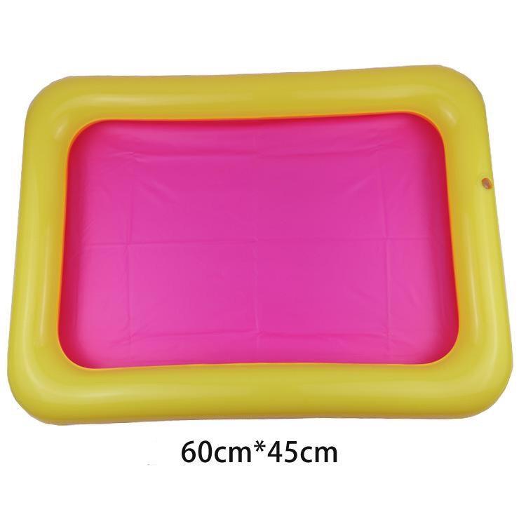[HCM giao 1-2 ngày][Chọn kích thước] Bể phao chơi cát động lực phao chơi đất nặn phao câu cá cho bé - Smart Baby