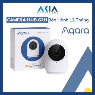 Camera Wifi tích hợp Hub Aqara G2H - Quay Full HD 1080p - Lưu trữ trực tiếp trên iCloud - Điều khiển các thiết bị thông minh Zigbee Aqara - Bảo hành chính hãng 12 tháng thumbnail