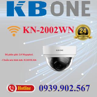 Camera IP Dome hồng ngoại không dây 2.0 Megapixel KBVISION KBONE KN-2002WN thumbnail