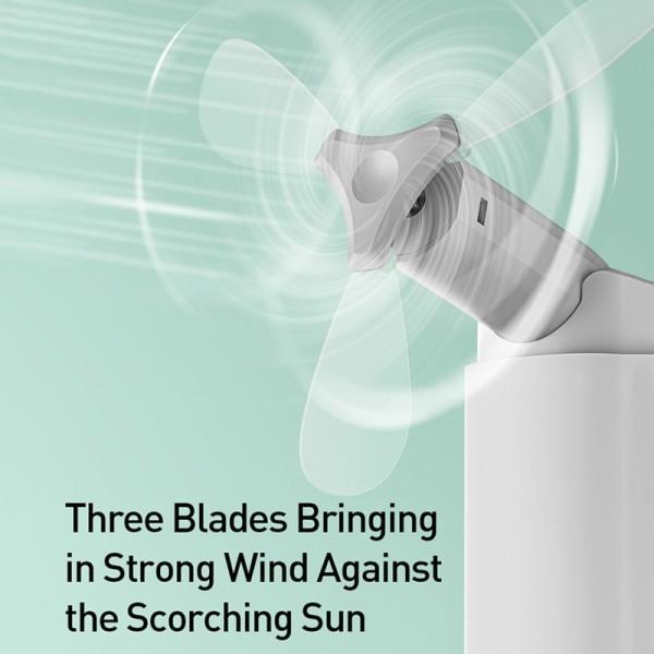 Một Chín Quạt cầm tay xếp gọn kiêm sạc dự phòng Baseus Square Portable Folding Fan