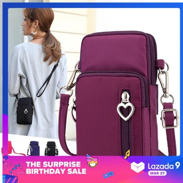 Túi dáng vuông nhỏ có dây đeo chéo, kích thước: 9*6*17cm(3.54 * 2.36 * 6.69 ) phong cách năng động cho nữ