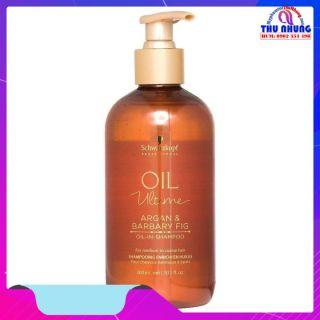 [HCM]Dầu gội Schwarzkopf OIL Ultime Argan & Barbary Fig Oil shampoo chăm sóc tóc to sợi thô cứng 300ml thumbnail