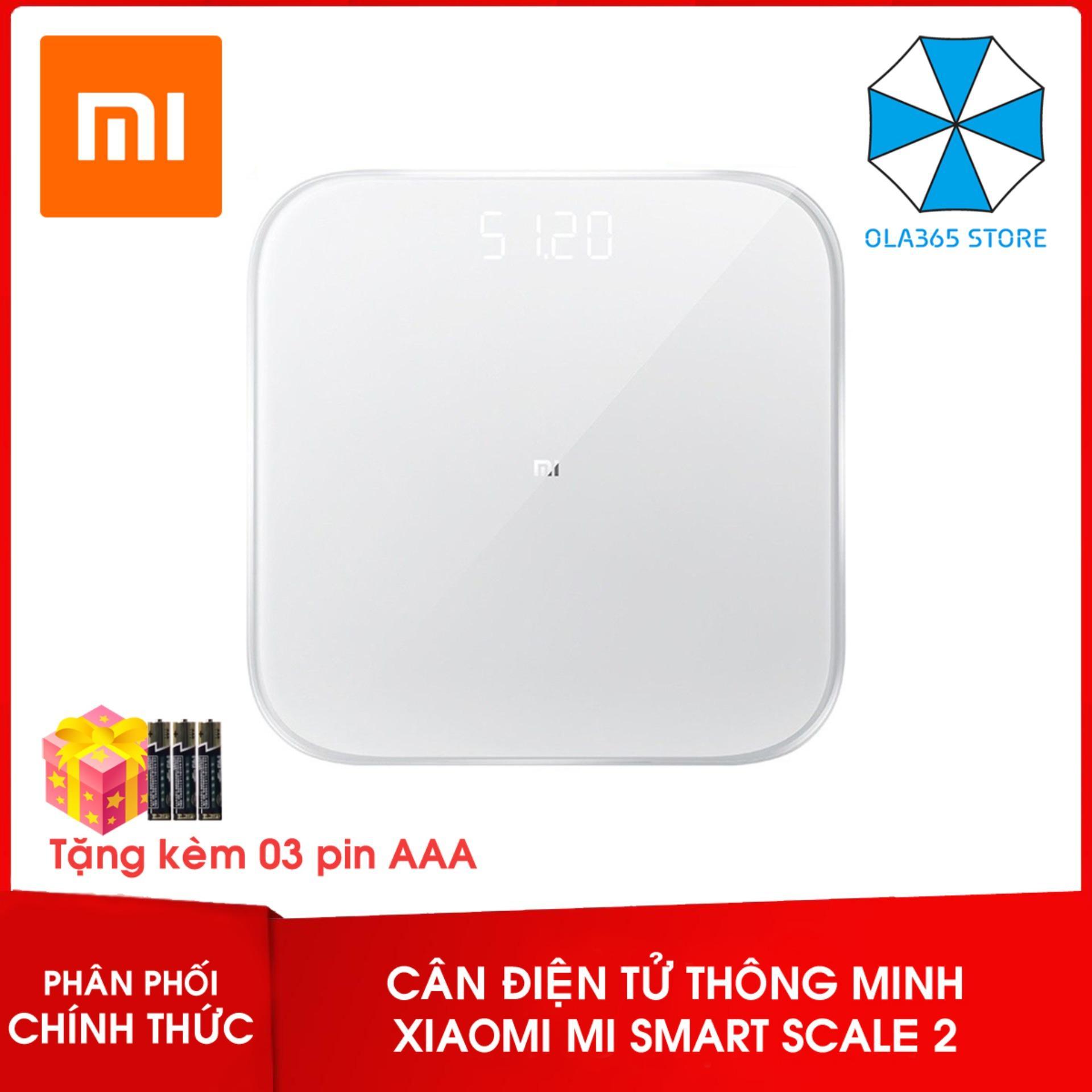 Cân điện tử thông minh Xiaomi Mi Smart Scale 2 version 2019
