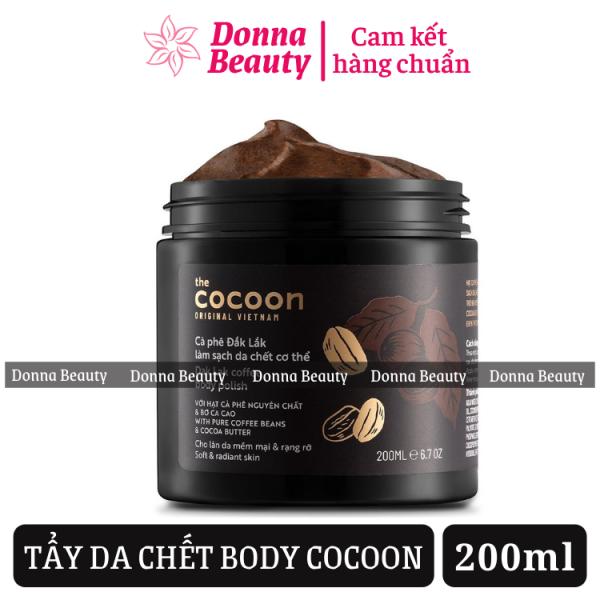 Tẩy Da Chết Body COCOON 200ml