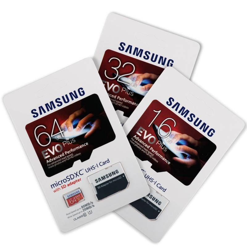 Giá Thẻ nhớ Samsung 16GB/32GB/64GB Thẻ Micro SD Lõi kép mạnh mẽ đồ bền bỉ cao chụp ảnh quay phim mượt mà ko lag