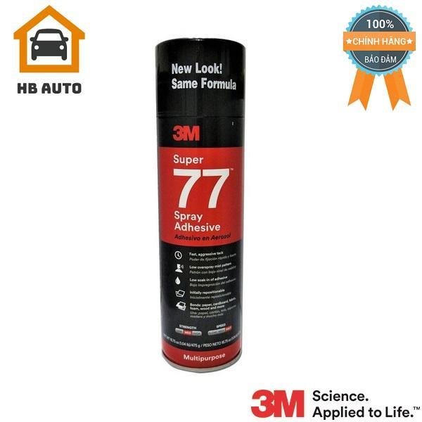 Keo Phun Xịt Đa Năng 3M Super 77 Spray Adhesive 475g