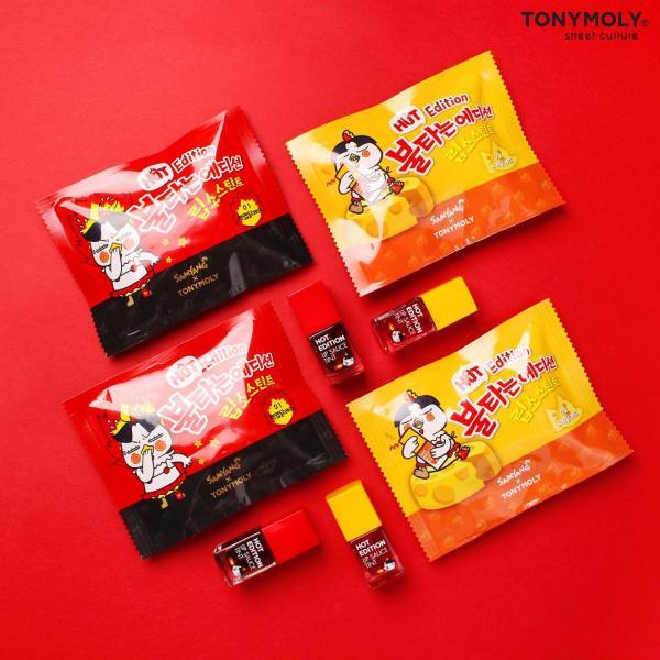 Son TONYMOLY Hot Edition Lip Sauce Tint tốt nhất