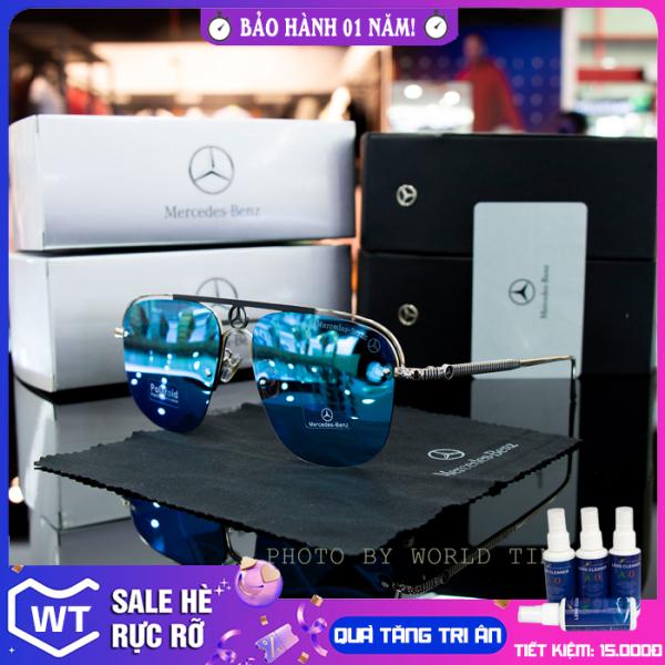 Giá bán Kính mát nam Luxury Benz04 mắt Polarized cao cấp, full hộp, khăn, thẻ, bảo hành 12 tháng