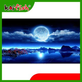 Tranh Koifish, 60x40cm, Aqb19-221, linh hồn cho hồ cá, siêu nét, siêu đẹp thumbnail