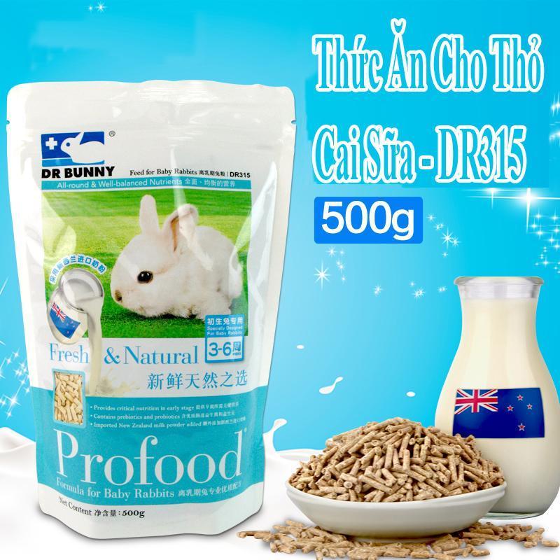 Thức Ăn Cho Thỏ Cai Sữa 500gr