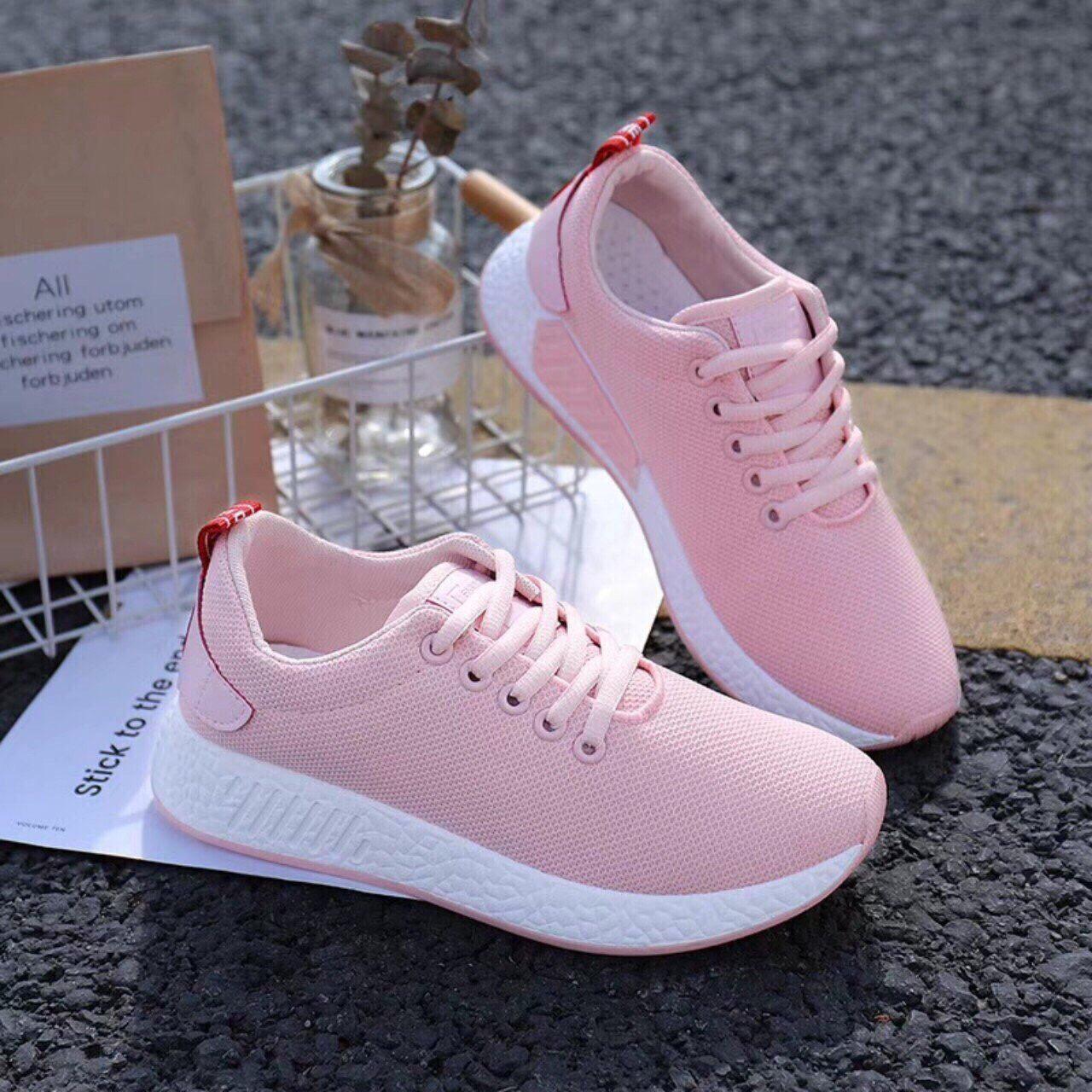 giày vải trơn