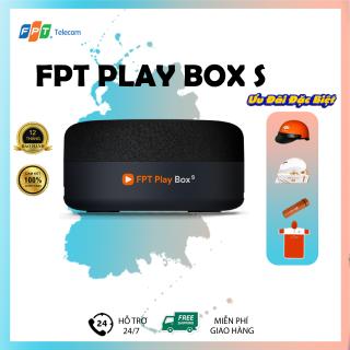 FPT PLAY BOX S + Modem 4K T590 + BOX TV KẾT HỢP LOA THÔNG MINH ĐIỀU KHIỂN BẰNG GIỌNG NÓI