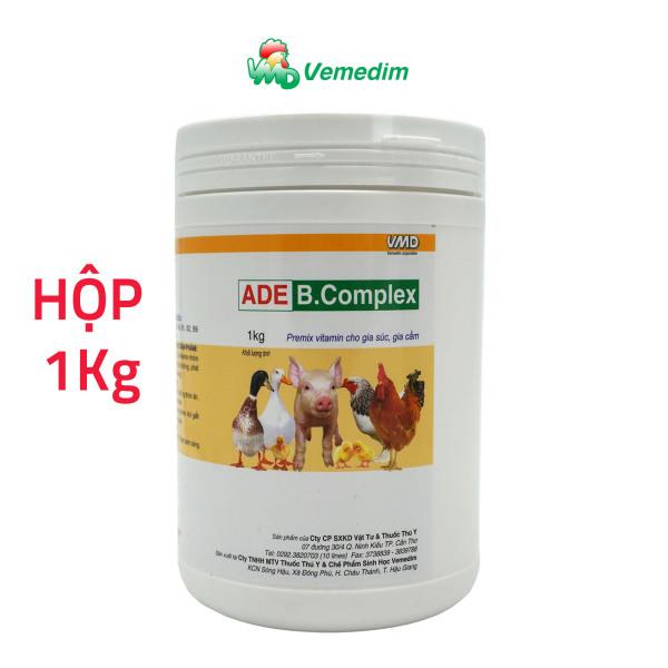 Vemedim ADE B.Complex – Premix vitamin cho gia súc, gia cầm (hộp 1kg)