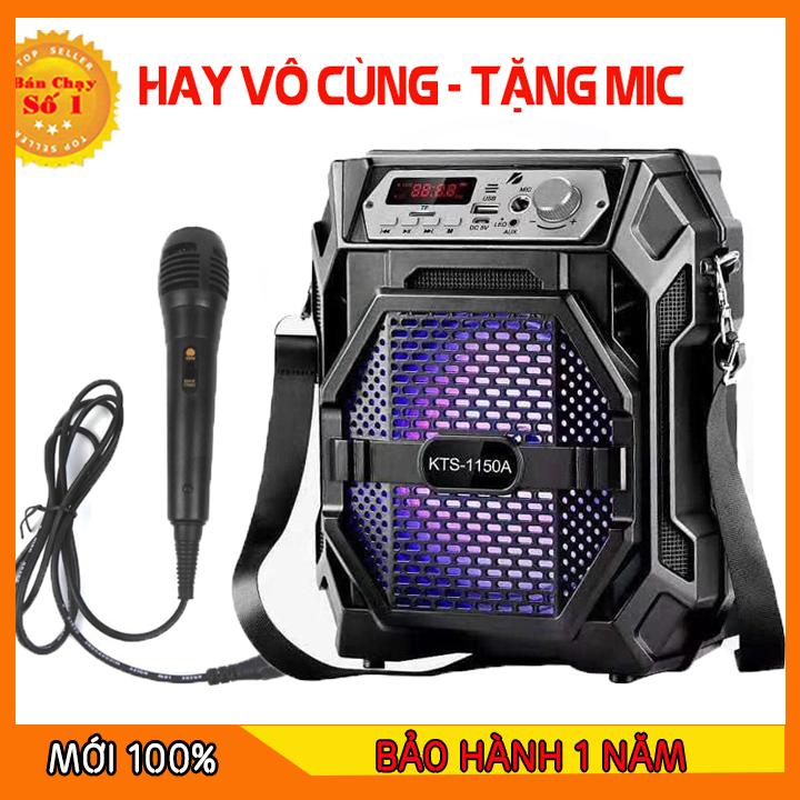 [TẶNG MICRO] Loa Kẹo Kéo Có Mic Hát Karaoke Nghe Nhạc Bluetooth - loa kẹo kéo mini - loa kẹo kéo bluetooth karaoke