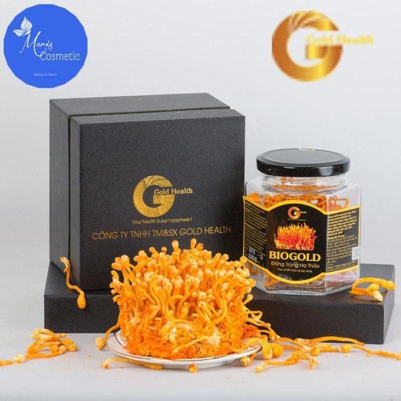 Đông Trùng Hạ Thảo Khô BIOGOLD - 5gr - An thần, ăn ngon, dễ ngủ, chống lão hóa da và xương khớp tốt nhất