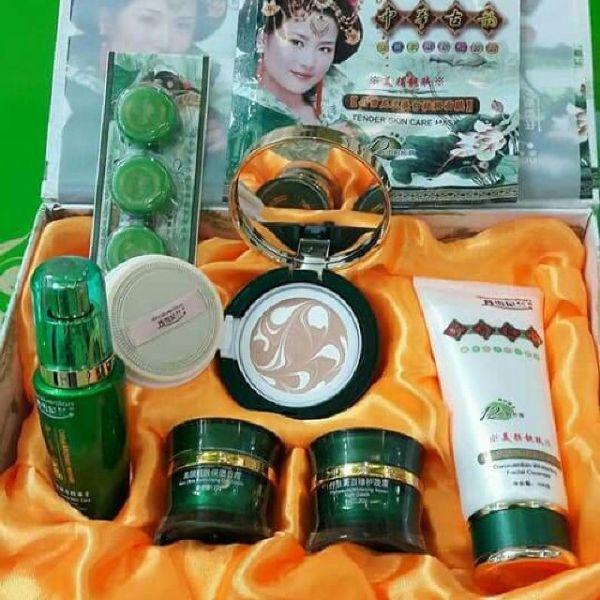 Bộ mỹ phẩm cao cấp Hoàng cung xanh 5in1 giá rẻ