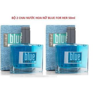 Bô 2 chai Nước hoa nữ Blue Avon For Her chiết xuất từ hoa hồng thumbnail