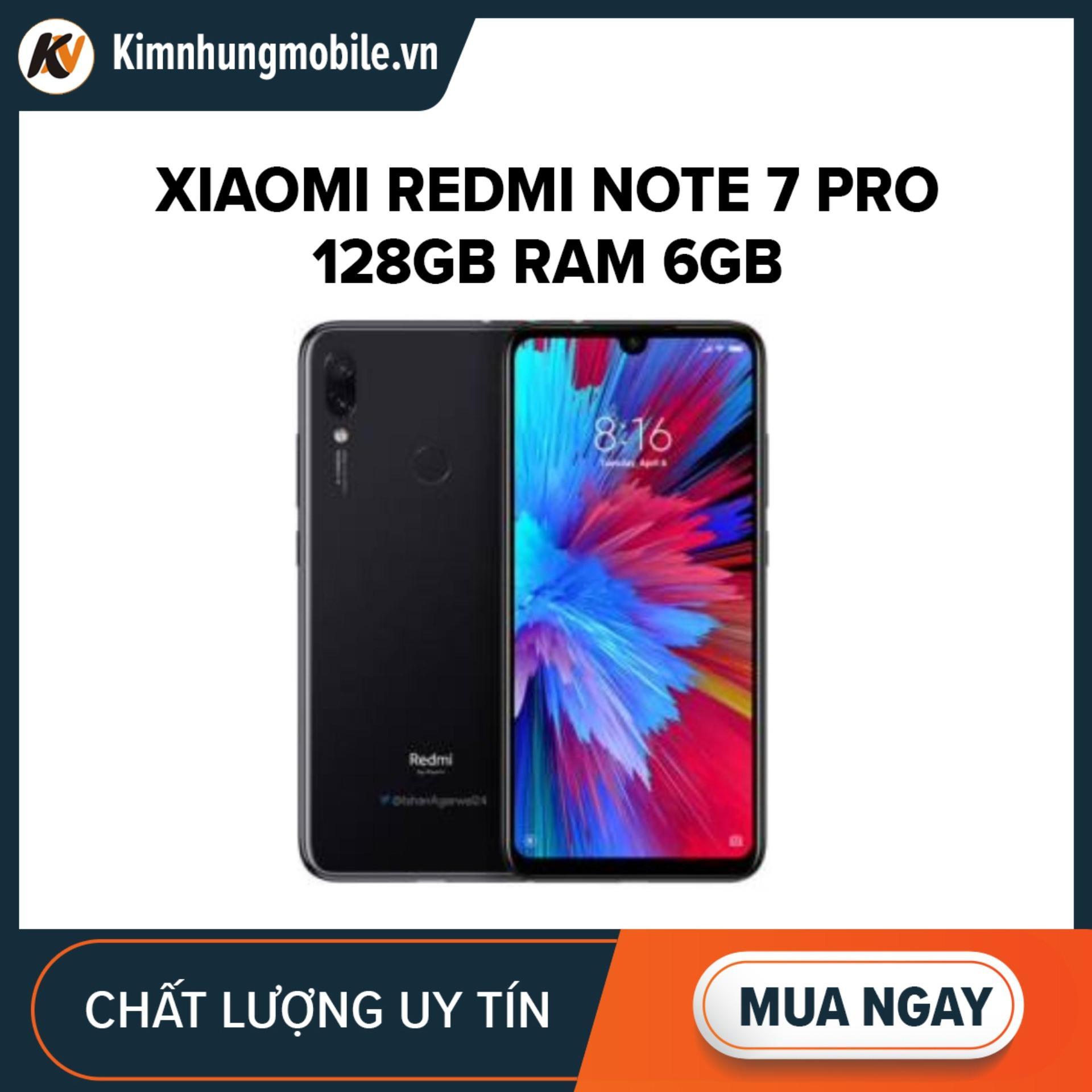 Xiaomi Redmi Note 7 Pro 128GB Ram 6GB Kim Nhung (Đen)