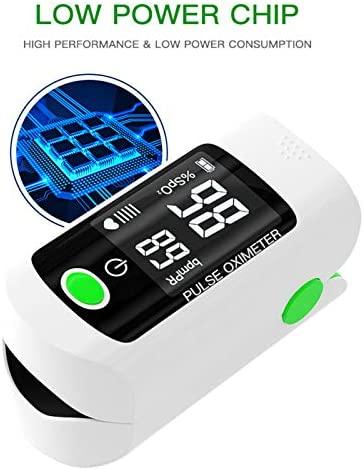 Máy đo nồng độ oxy trong máu Độ bão hòa oxy trong máu SpO2 & Màn hình PR 8S - phát hiện nhịp tim và độ bão hòa oxy trong máu bằng ngón tay
