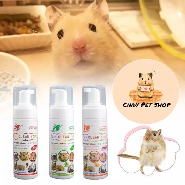 Bọt Tắm Khô Cho Hamster, Sóc Bông, Sóc Bay, Sóc Đất, Thỏ, Bọ, Dumbo Rat...