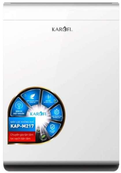 MÁY LỌC KHÔNG KHÍ KAROFI KAP M217 - Bán chạy nhất, vận hành êm ái, 7 cấp lọc