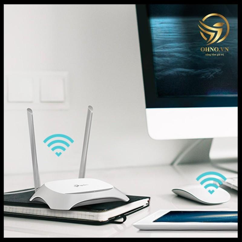 Bảng giá Bộ Thiết Bị Đầu Phát Wifi Tp Link Tl-Wr840N Cục Phát Sóng Wifi 2 Râu Kết Nối Internet Tốc Độ Cao - Ohno Việt Nam Phong Vũ