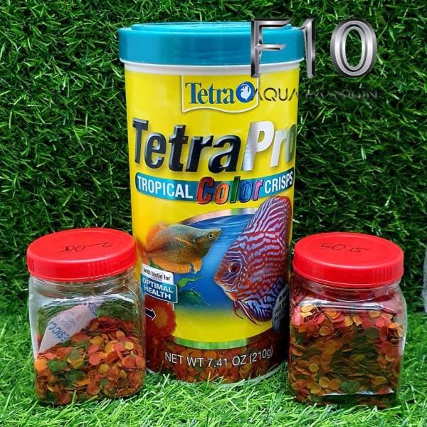 Thức ăn cao cấp cho Cá TETRA PRO - Cám kích màu cá giúp cá trở nên rực rỡ nhất - Chiết từ Hộp 210G - 20G