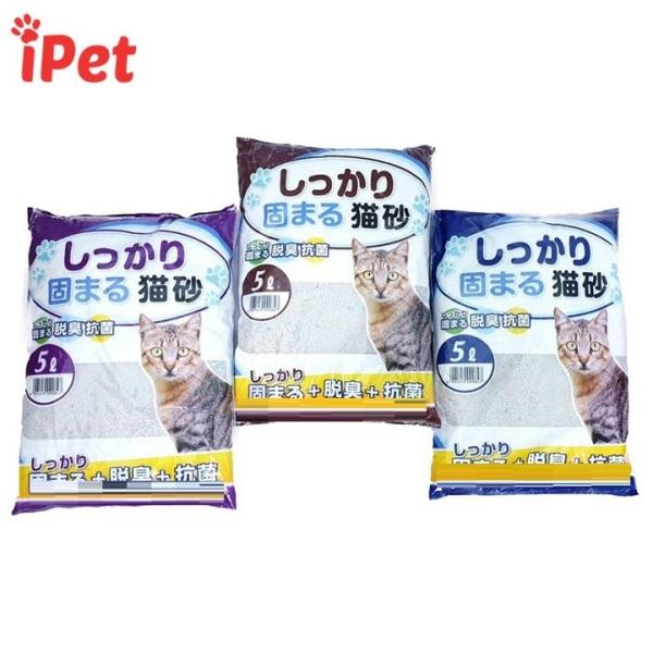 Cát Vệ Sinh Nhật Bản Cat Litter Kitty Pet 5L Dành Cho Mèo - iPet