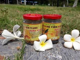 Mật Ong Viên Nghệ Đen xuân nguyên lọ thủ tinh 100gr hỗ trợ trị đau bao tử, dạ dày, đầy bụng, kháng viêm thumbnail