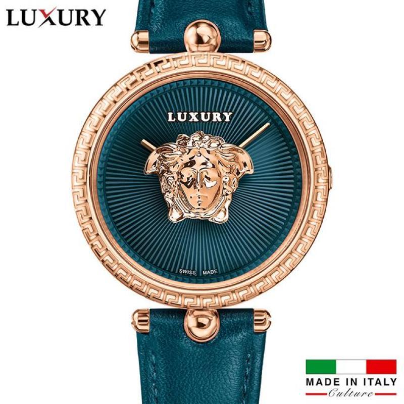 Nơi bán [Hàng độc quyền] Đồng hồ nữ luxury 3d nhập từ italia - dây da thật cao cấp - Bảo hành 12 tháng