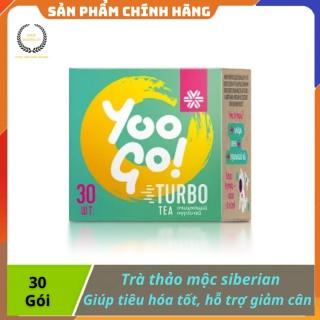 [ CHÍNH HÃNG ] - Trà thảo mộc Yoo Go Turbo Tea siberian, giúp giảm cân, tốt cho đường tiêu hóa - Hộp 30 gói - hộp 30 gói thumbnail
