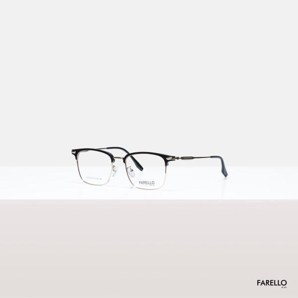 Mua Mắt kính cận nam nữ FARELLO thiết kế mắt vuông to sành điệu, đa dạng màu sắc GALIO - 70075