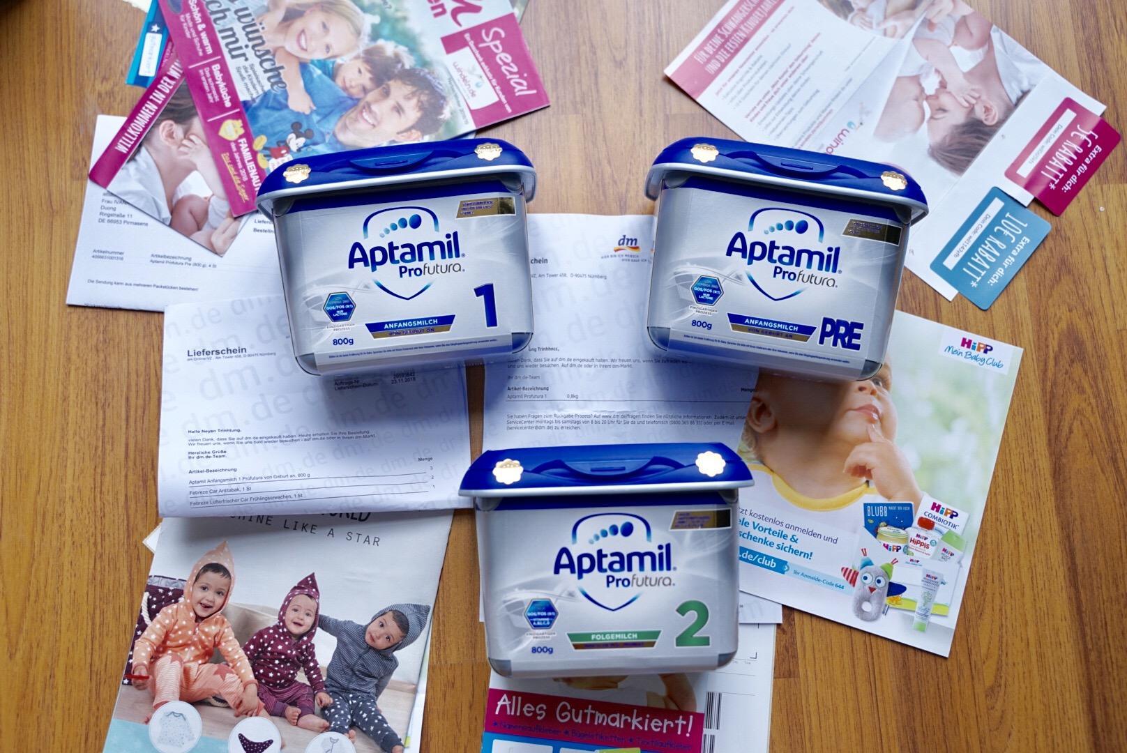 Sữa Aptamil Profutura (Nội Địa Đức) Mẫu Mới Đủ Số...