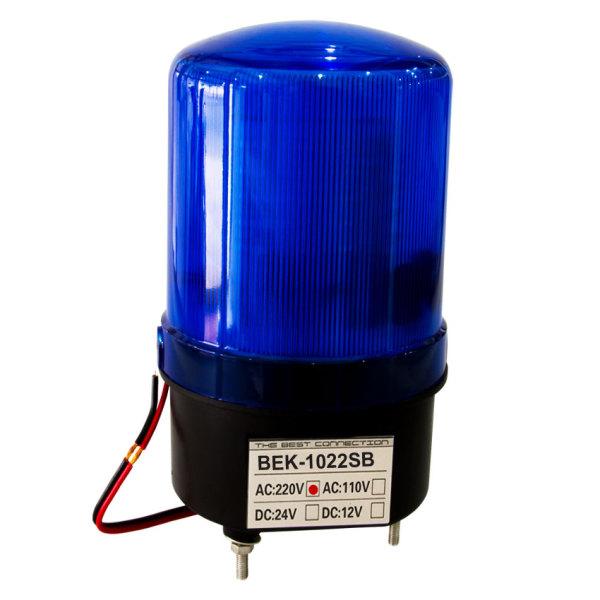 [HCM]Đèn quay Led có còi BEKONEC - BEK - 1022SB - 220V AC - Xanh - Thái lan