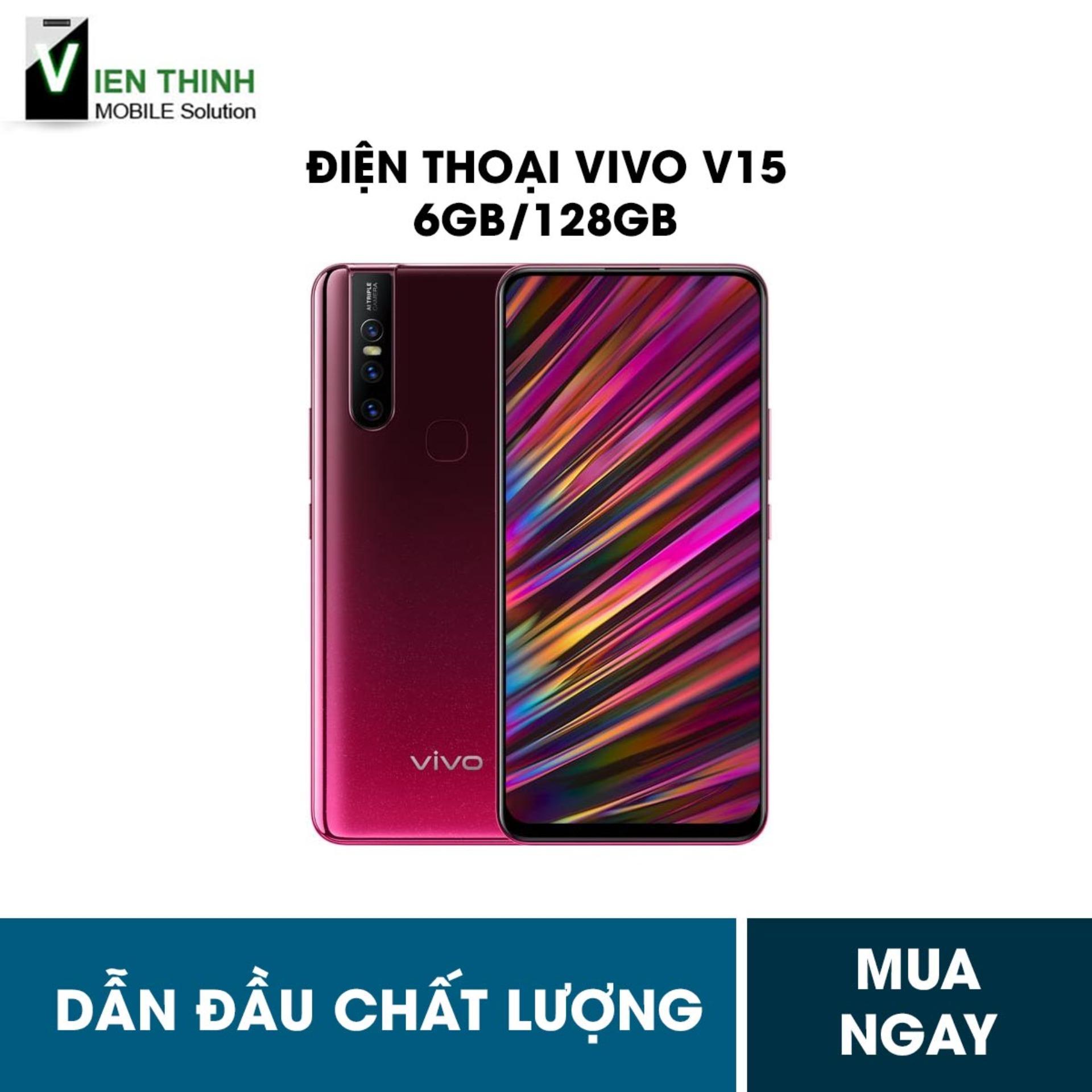 Điện Thoại Vivo V15 6GB/128GB - Hàng chính hãng