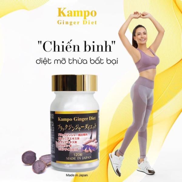 Kampo Ginger Diet - Giảm Cân Theo Phương Pháp Nhật Bản (Chuẩn Auth) (Inbox Giá Sỉ Tốt) nhập khẩu