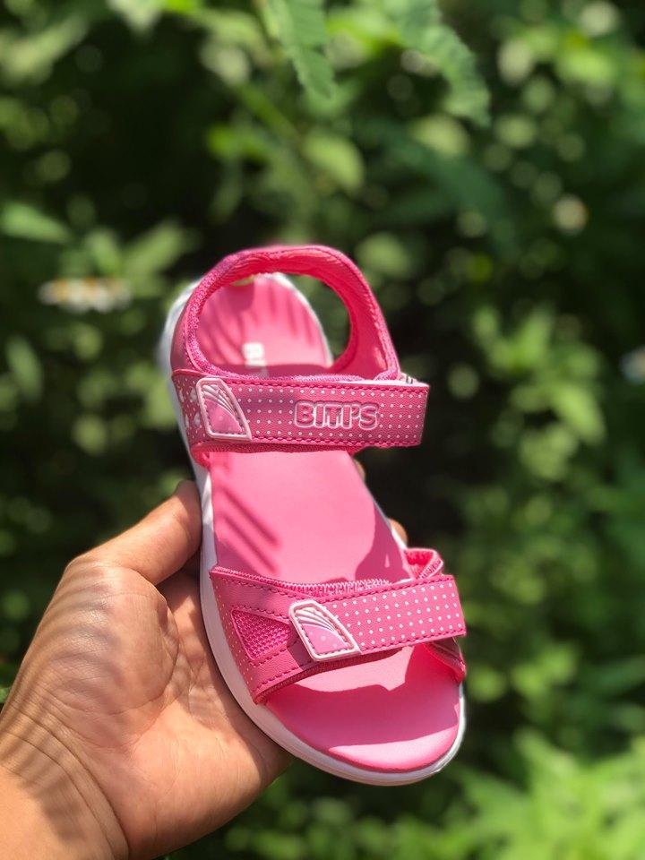 Giá bán Sandal Bitis DEB004900 màu hồng (30-37) cho trẻ từ 5 - 12 tuổi