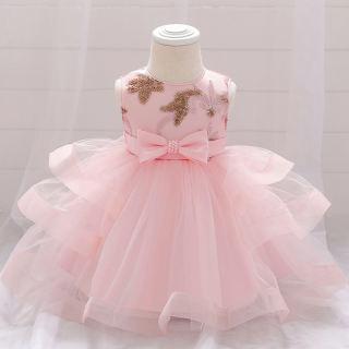MQAT Lễ Hội Trang Phục Sinh Nhật Váy Bé Gái Quần Áo Dạ Hội Váy Công Chúa Váy Dự Tiệc Và Váy Cưới 3-24 Tháng L1929XZ