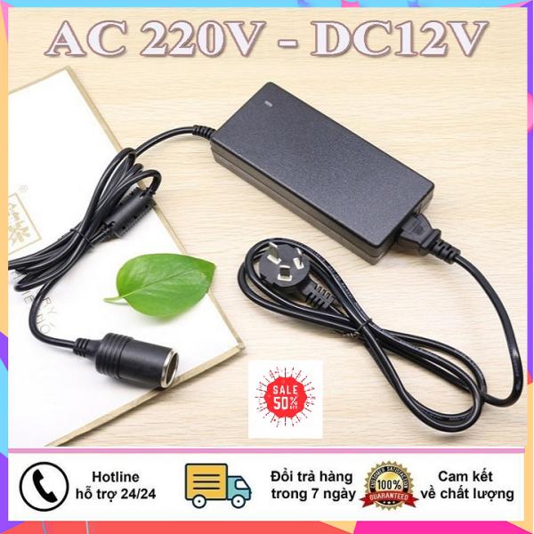 Bảng giá Bộ chuyển đổi biến áp nguồn Adapter từ điện nhà 220V sang 12V 5A dùng cho máy bơm rửa xe mini , bộ chuyển adapter , bộ chuyển nguồn, cục chuyển đổi nguồn cho máy bơm rửa xe..., bộ nguồn chuyển điện Phong Vũ