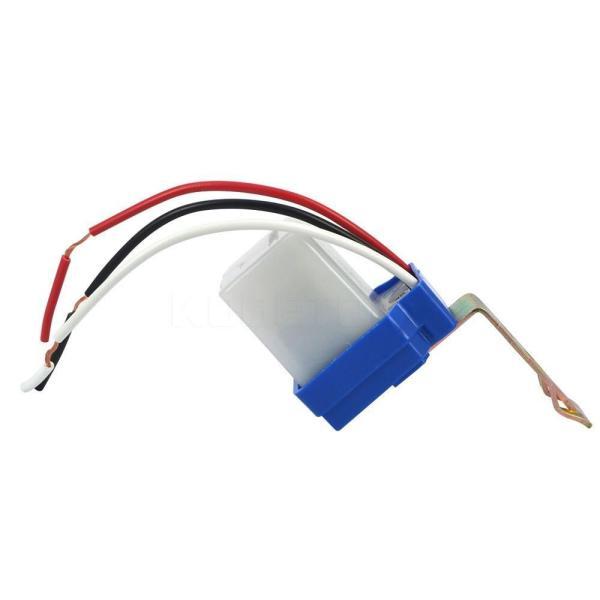 Công tắc cảm biến ánh sáng tự động 10A 220V, Có thể lắp vào đèn năng lượng mặt trời và đèn lồng, ô tô, xe máy, ô tô điện