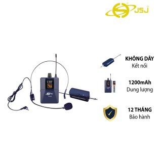 Micro cài áo đa năng JSJ W14A tích hợp bộ phát tai nghe và pin nhỏ tiện lợi phạm vi thu sóng rộng giảm tiếng ồn hiệu quả chống hú chống nhiễu độ nhạy cao công suất mạnh mẽ chất lượng âm thanh tuyệt vời thumbnail