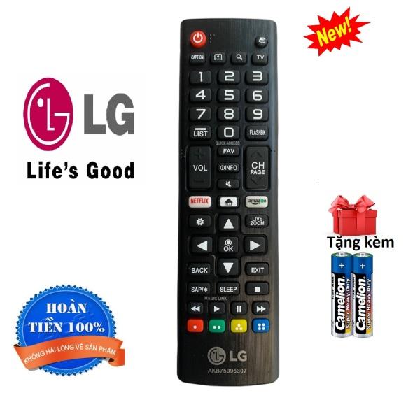 Bảng giá Điều khiển tivi LG remote LG AKB75095307- Hàng tốt [ tặng kèm pin ]