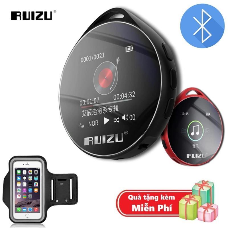 ( Quà tặng Túi đựng máy nghe nhạc đeo tay chống nước ) Máy nghe nhạc MP3 Bluetooth cao cấp Ruizu M10 - Hifi Music Player Ruizu M10 - Màn hình cảm ứng 1.8inch - Máy nghe nhạc Lossless Ruizu M10