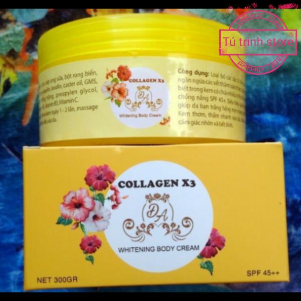 Kem body collagen X3 _giấy bảo hành da