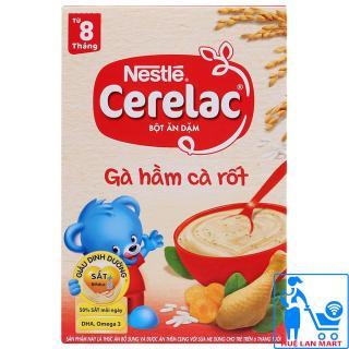 Bột Ăn Dặm Dinh Dưỡng Nestlé Cerelac Gà Hầm Cà Rốt Hộp 200g (Dành cho trẻ từ 8 tháng tuổi) thumbnail