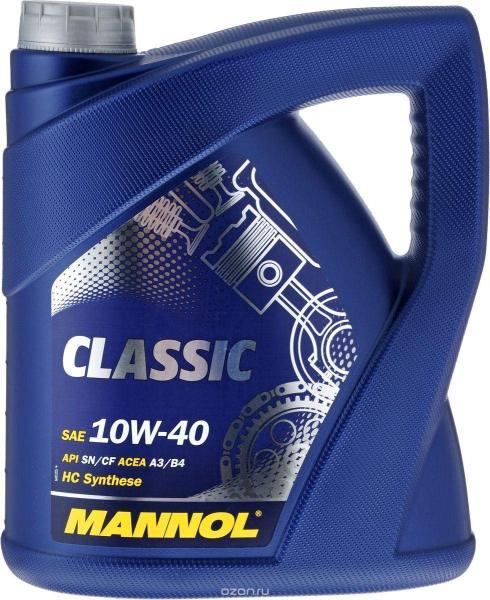 [PRO] Nhớt MANNOL 7501 Classic SAE 10W-40 API SN/CF | 4Lít Can Nhựa Tổng Hợp Đa Cấp HC Đa Năng